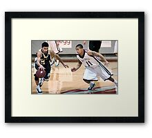Missouri vs UIndy 7 Framed Print