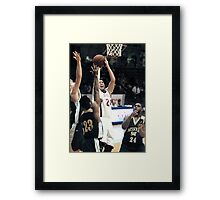 Missouri vs UIndy 4 Framed Print