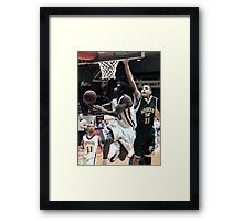 Missouri vs UIndy 2 Framed Print