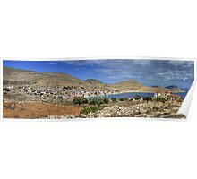 Halki Panorama Poster