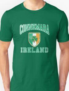 Connemara, Ireland with Shamrock Unisex T-Shirt