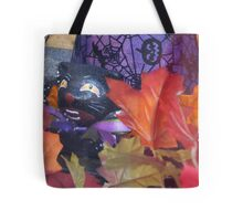 Cackle of the Witch's Hat Tote Bag