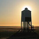 Lighthouse Silhouette by RedHillDigital