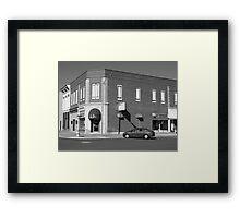 Abilene, Kansas - 2nd and Broadway Framed Print