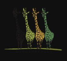 4 Giraffes One Piece - Long Sleeve