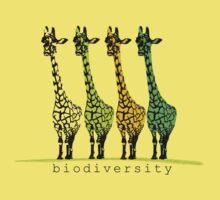 4 Giraffes by Apteryx