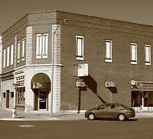 Abilene, Kansas - 2nd and Broadway by Frank Romeo