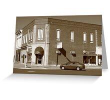 Abilene, Kansas - 2nd and Broadway Greeting Card