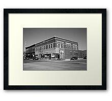 Alpena, Michigan - Thunder Bay Theatre Framed Print