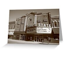 Alpena, Michigan - State Theater Greeting Card