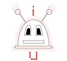 I Robot U (Devoted) Photographic Print
