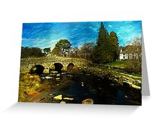 Postbridge, Dartmoor  Greeting Card