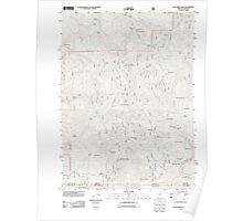 USGS Topo Map Oregon Dutchman Peak 20110808 TM Poster