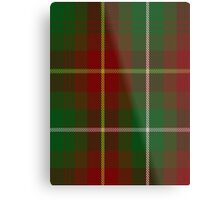 00119 Prince Edward Island District Tartan  Metal Print