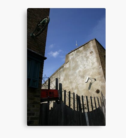 East End Angle Canvas Print