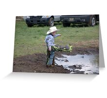 The Little Cowboy Greeting Card