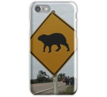 Capibaras crossing iPhone Case/Skin