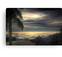 View from Beetle Rock, Sequoia National Park Canvas Print