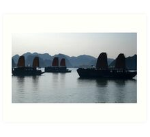 Floating Tradition Art Print