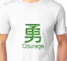 COURAGE KANJI Unisex T-Shirt