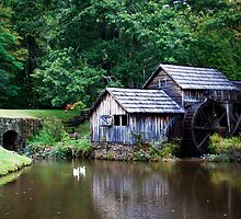Mabry Mill, Virginia by Melinda Watson
