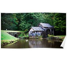 Mabry Mill, Virginia Poster