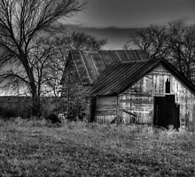 Old Barn - Sunset Texas by jphall