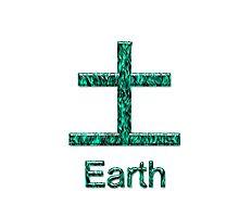 EARTH KANJI Photographic Print
