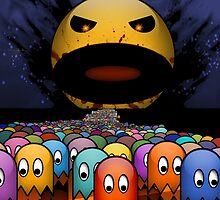 Evil Pac Man  by minimanimo