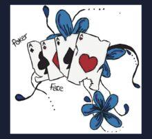 'Poker Face' Kids Tee