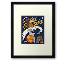 United Space Federation Framed Print