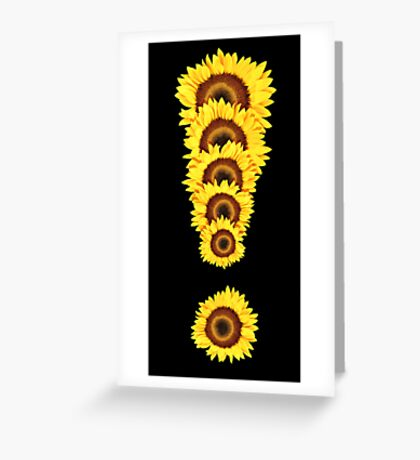Exclamation ! Greeting Card