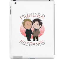 MURDER HUSBANDS FTW iPad Case/Skin