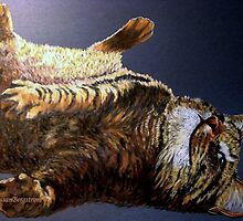 """Scratch My Tummy"" by Susan Bergstrom"