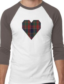 00120 Quebec, Plaid du Tartan Men's Baseball ¾ T-Shirt