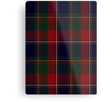 00120 Quebec, Plaid du Tartan Metal Print