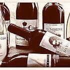 Wine Bottles by susan stone