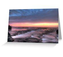 Bangally Sunrise - HDR Greeting Card