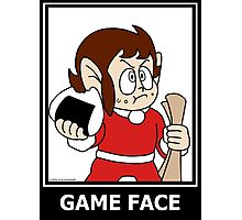 Alex Kidd - Game Face Photographic Print