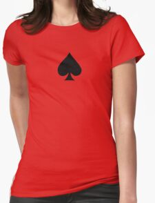 spade Womens Fitted T-Shirt