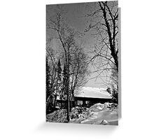 Auntie Josey Lake House Greeting Card