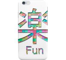 fun kanji iPhone Case/Skin