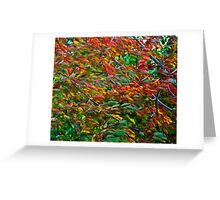 Abstract-001 Greeting Card