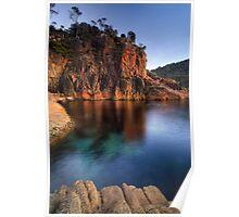 Sleepy Bay, Freycinet National Park, Tasmania Poster