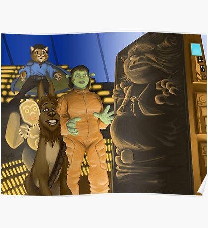 The Ogre Strikes Back Poster