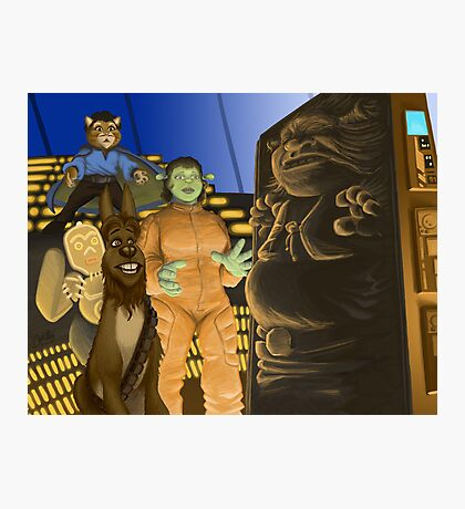 The Ogre Strikes Back Photographic Print