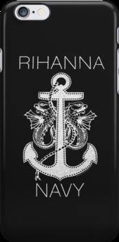 Rihanna Navy Design by TalkThatTalk
