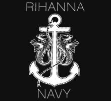 Rihanna Navy Design by TalkThatTalk