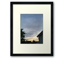 Sunset 15 Framed Print