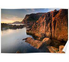 Sleepy Bay, Tasmania, Sunrise Poster